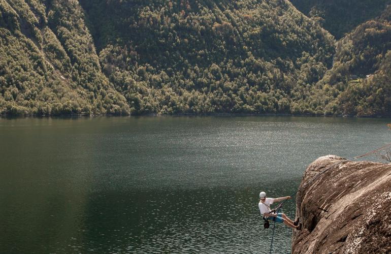 Climbing in Valldal