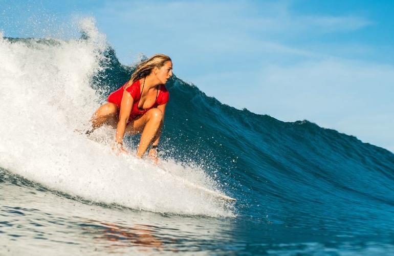 Beginner surf spot Jaco costa rica surfing