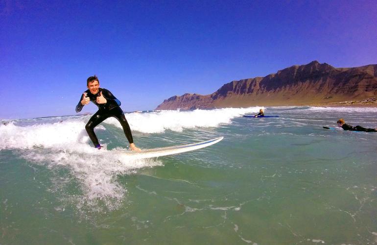 Lanzarote canary islands surf adrenaline hunter