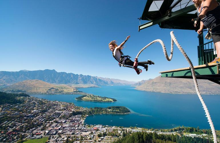 saut à l'élastique adrenaline hunter