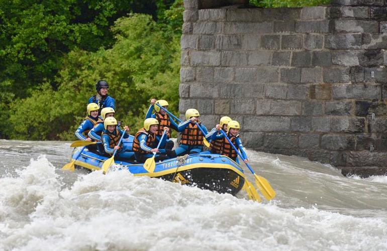 rafting austria