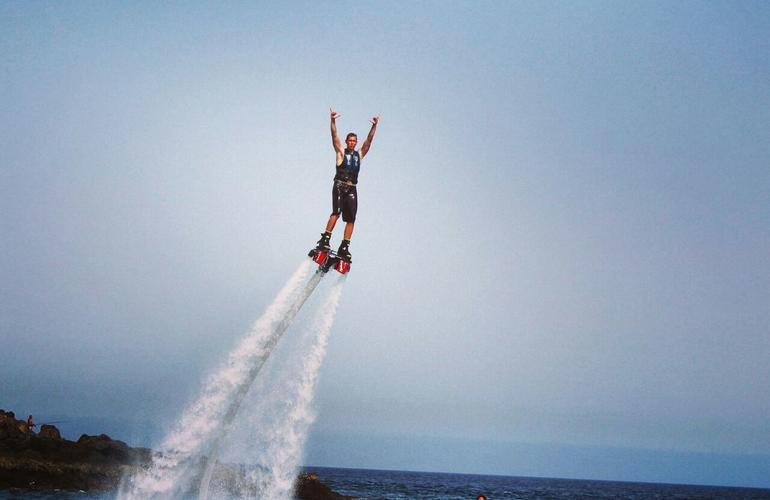 Flyboard in Lanzarote