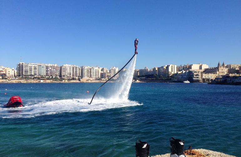 island of malta flyboard