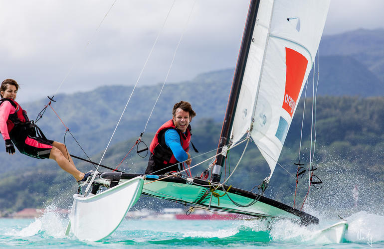 sailing adrenaline hunter