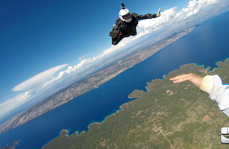 Skydive skydiving Croatia