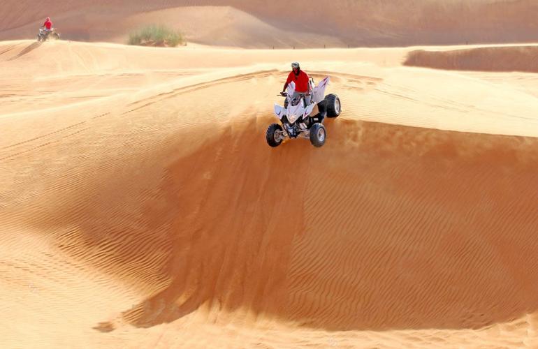 Quad Bike excursion in Dubai