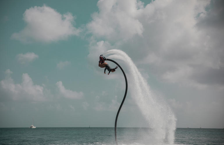 Martinique flyboard