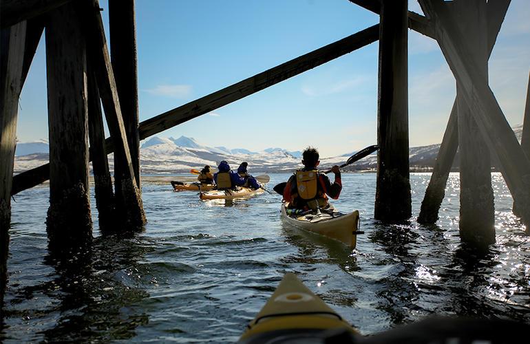 Sea Kayaking in Tromsø