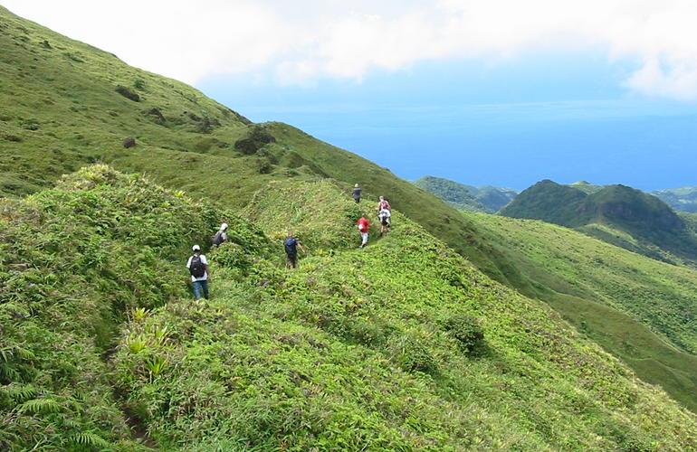 Randonnée à la Montagne Pelée en Martinique