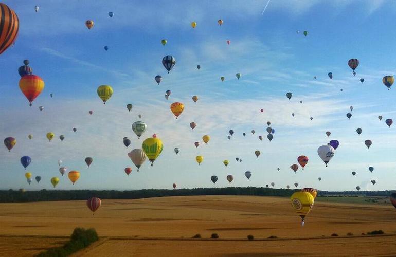 Milan hot air balloon