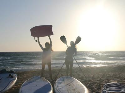 Stand Up Paddle lessons in Falasarna