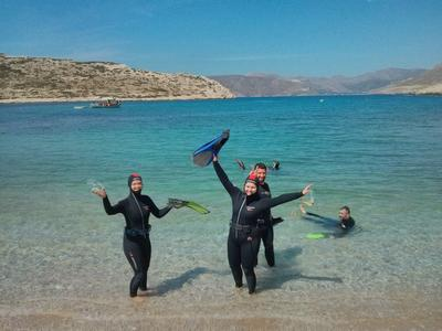 Scuba Diving: PADI Advanced Open Water diving course in Amorgos