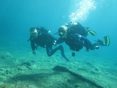 Scuba Diving: First scuba dive in Alexandroupoli