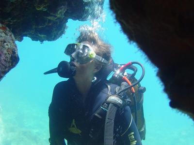 Scuba Diving: 2 Adventure dives from Pounda, in Paros