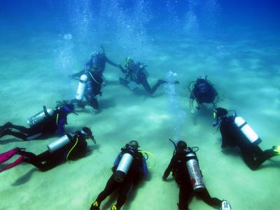 Scuba Diving: Discover scuba diving in Antiparos