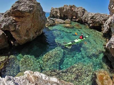 Sea Kayaking: Sea kayaking excursions in Ithaca Island