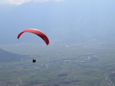 Paragliding: Tandem paragliding flight over Preveza, Greece