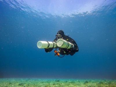 Scuba Diving: Adventure dives in Lefkada