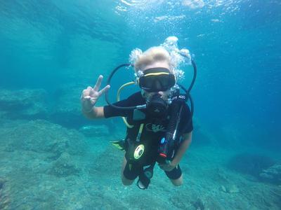 Scuba Diving: Discover Scuba Diving in Alonissos