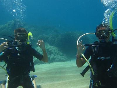 Scuba Diving: Discover Scuba Diving on a reef in Corfu