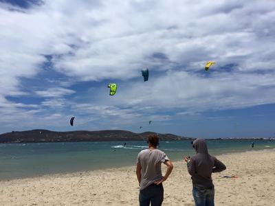Kitesurfing: Private Kitesurfing Coaching from Pounda Beach, Paros