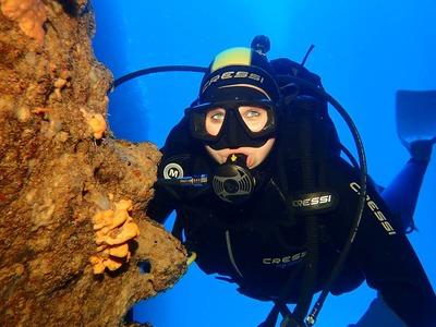 Scuba Diving: First scuba dive on Paxos Island