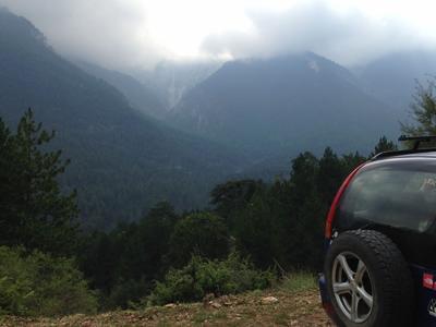 4x4: Jeep safari and hiking in Mount Olympus