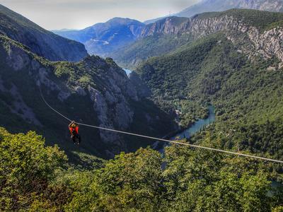 8 Zipline Canopy Tour over the Cetina River, Omis
