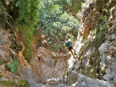 Canyoning: Full-day Advanced Canyoning Adventure in Kefalonia