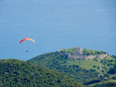Paragliding: Paragliding and hiking Mount Olympus tour