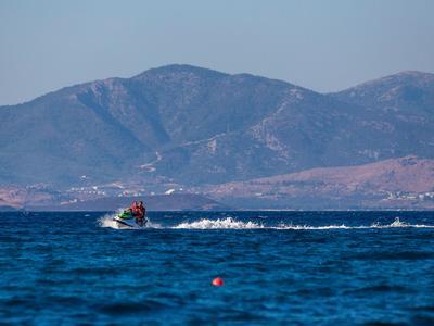 Jet Skiing: Jetski rental near Psalidi Beach on Kos