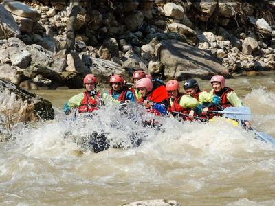 Rafting and canyoning excursion in Tzoumerka