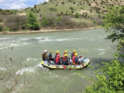 Rafting: Rafting excursions on Mount Olympus