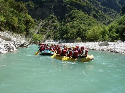 Rafting on Voidomatis River, Vikos–Aoös National Park