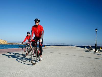 Mountain bike: Aegina Island mountain biking tour from Athens