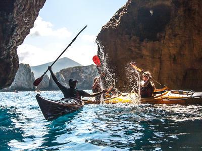 Sea Kayaking: Sea Kayak tour in Navarino Bay, Messinia