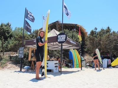 Stand up Paddle: SUP rental at Messakti beach, Ikaria