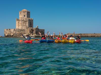 Sea Kayaking: Sea Kayak tour in Methoni