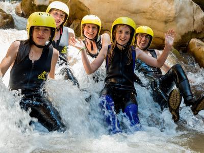 Canyoning: River Trekking in Neda, Kalamata