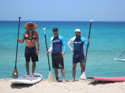 Stand up Paddle: SUP lesson at Messakti beach, Ikaria