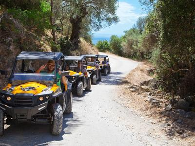 Quad biking: Guided Quad tours to Kefalonia's backcountry from Skala