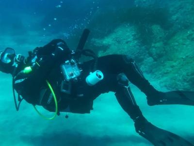 Scuba Diving: Scuba Diving courses in Skyros
