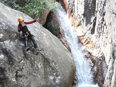 Pulischellu Canyon in Bavella, Corsica