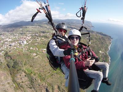 Tandem paragliding in Bagnara Calabra