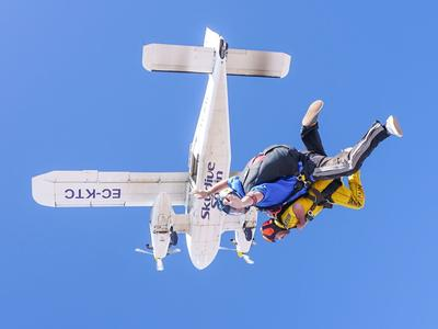 Tandem Skydive from 3100m in Sevilla