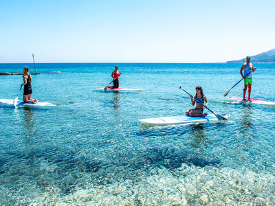 Stand up Paddle: Stand Up Paddling Lessons from Krioneri Beach in Zante