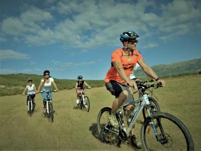 Mountain biking excursion in the Konavle Valley from Komaji near Cavtat