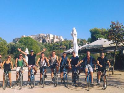 Mountain bike: Bike tour around Acropolis, Athens