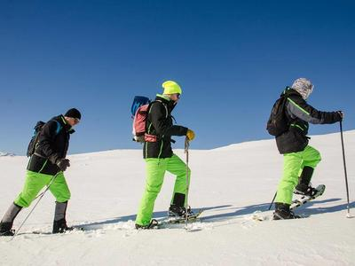 Snowshoeing in Durmitor National Park