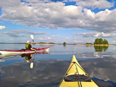 Canoe/Kayak Beginner Course in Oravi near Linnansaari National Park
